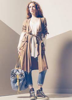 Produzione e vendita pronto moda donna  collezione spring e summer 2016. #anycase #coat #prontomoda #safari #bag