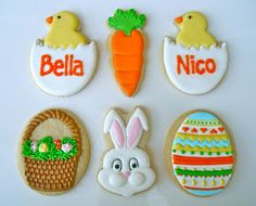 .Oh Sugar Events: Easter Cookies