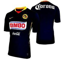 NIKE CLUB AMERICA AWAY JERSEY 2008/09 MEXICO X-LARGE.