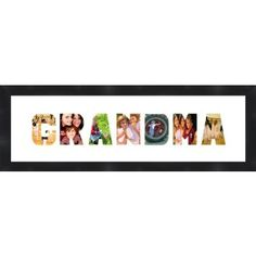 Cool #giftidea for her - Grandmother or Mother's Day gifts!    Personalized Name Art - Wall Décor