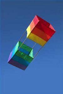 Instructions for making a box kite.Had one when I was a kid! Summer Crafts, Summer Fun, Diy And Crafts, Crafts For Kids, Fun Crafts, Kite Surf, Go Fly A Kite, Ballon, Air Balloon