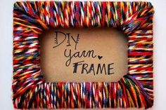 10 Easy And Simple Yarn & Wool Crafts For Kids #artsandcraftsforchildren,