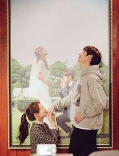 Shin Mina & Lee Je-hoon in Tomorrow With You Kpop Couples, Movie Couples, Tomorrow With You Kdrama, Romantic Doctor, Shin Min Ah, Best Kdrama, Wattpad Book Covers, Korean Drama Quotes, Drama Fever