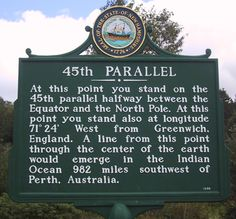 Only four states lie entirely north of the 45th parallel: Alaska, Washington, Montana (almost), and North Dakota.