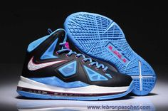 Chaud Noir Photo Bleu Femmess Nike Lebron X Nike Zoom 61b206a25c59