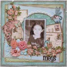 Megs **MY CREATIVE SCRAPBOOK** - Scrapbook.com Graphic 45 - Once Upon a Springtime Collection