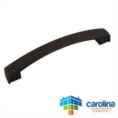 "Carolina Hardware Company Oil Rubbed Bronze Cabinet Hardware Handle Pull 5"" Inch Hole Centers (128mm)"
