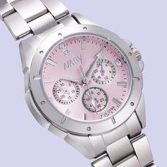 Nary 시계 여성 패션 명품 시계 reloj mujer 스테인레스 스틸 품질 다이아몬드 숙녀 석영 시계 여성 라인 석 시계