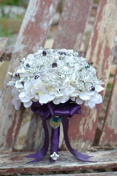 Another gorgeous brooch bouquet.