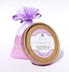 Lavender Bath Salts by Lavessence. Lavender bath salts crafted with Dead Sea and Pink Himalayan Sea salts, these lavender bath salts are 100% natural...