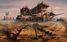 ArtStation - Wasteland, Oleg Gorbachik