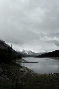 Medicine Lake, Jasper, Alberta