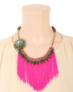 In love with this Joomi Lim statement necklace