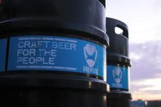 We are BrewDog, and our mission is to make other people as passionate about great craft beer as we are.