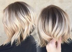 ombre-kurze-haare-dunkle-ansätze-blonde-spitzen