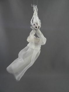 Spooky Headless Ghost 1 12 Scale Haunted Dollhouse Miniature OOAK Pat Benedict | eBay