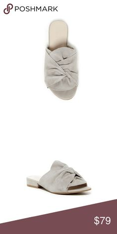Kenneth cole gathered vamp slide sandals - Open toe - Wide gathered vamp strap - Slip-on - Lightly padded footbed - Materials Suede upper, manmade sole Kenneth Cole Reaction Shoes Sandals