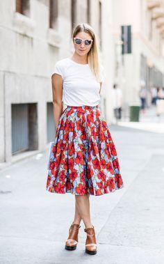 Summer Midi Skirts