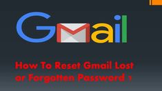 How to reset gmail lost or forgotten password? You Changed, Lost, Letters, Australia, Sayings, Youtube, Lyrics, Letter, Word Of Wisdom