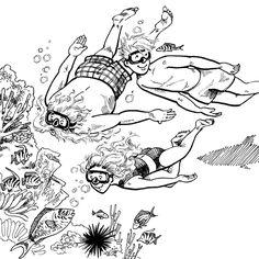 Illustrator Saturday – Chantelle and Burgen Thorne Bookstagram, Childrens Books, Illustrators, Africa, Graphic Design, Teaching, Black And White, Artist, Artwork
