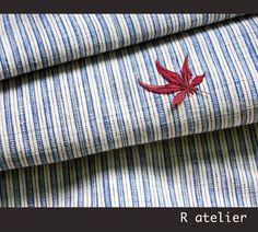 $59 | Vintage Chinese Fabric | Handwoven Cotton | Fabric By The Bolt | Dark Blue Stripe 006 #vintagefabrics #handwoven #asianfabric #cottonfabric #crafts #fabriccrafts #craftsupply #craftsupplies