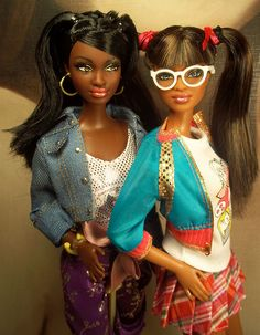 black barbie dolls.