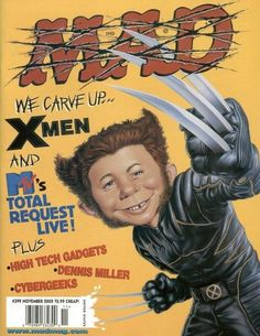MAD Magazine's Alfred E. Logan