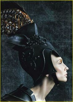"""the-moustached-king: """" 'Head First', Cate Blanchett by Steven Klein, Vogue US November Christian Dior Fall Winter 2006 Haute Couture """" John Galliano, Galliano Dior, Cate Blanchett, Dior Haute Couture, Christian Dior, Fashion Art, Editorial Fashion, Fashion History, Warrior Queen"""
