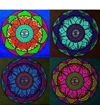 Mandala Art by Luiza Poreda