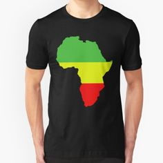 """""""Africa!"""" by Qsoul   Redbubble  Simple depiction of the wonderful motherland, Africa Tshirt Colors, Wardrobe Staples, Female Models, Chiffon Tops, Heather Grey, Classic T Shirts, Africa, Tees, Simple"""