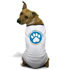 Help support NH Humane Society by stocking up on NHHS merchandise! #liveloveadopt #adopt #doggietshirt