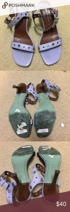 Donald Pliner heels Purple Donald Pliner heels. VINTAGE. From couture collection. Donald J. Pliner Shoes Heels