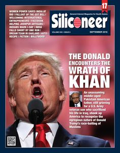 SILICONEER SEPTEMBER 2016 MAGAZINE Click Here to read the latest print issue of Siliconeer. Enjoy and share! http://siliconeer.com/current/siliconeer-current-e-magazine/