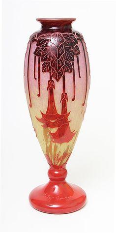 Le Verre Français, <Em>Daturas</em> Vase