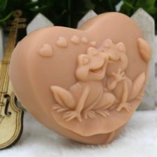 Frog Heart Silicone Soap Molds Diy Craft Handmade Candle Resin Soap Making Mould