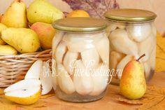 Груши в сиропе на зиму - рецепт с фото