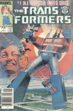 cover art for Marvel Comics' the Transformers, Vol. 1 the Transformers, Vol. 1 # 01 - cover by Bill Sienkiewicz. the Transformers, Vol. 1 # 02 - cover by Michael Golden. Vintage Comic Books, Vintage Comics, Comic Books Art, Book Art, Vintage Toys, Most Expensive Comics, Valuable Comic Books, Nostalgia, Guache