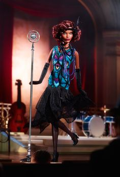 Claudette Gordon™ Barbie® Doll | The Barbie Collection | Harlem Theatre Collection .
