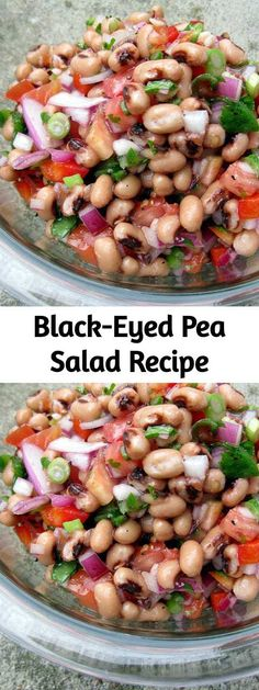 This bean salad would be a hit on any occasion this summer. It's quick, inexpensive, and easy. And it's addictive. This bean salad would be a hit on any occasion this summer. It's quick, inexpensive, and easy. And it's addictive. Pea Salad Recipes, Pea Recipes, Vegetarian Recipes, Healthy Recipes, Healthy Bean Salads, Quick Salad Recipes, Healthy Cooking, Healthy Eating, Cooking Recipes
