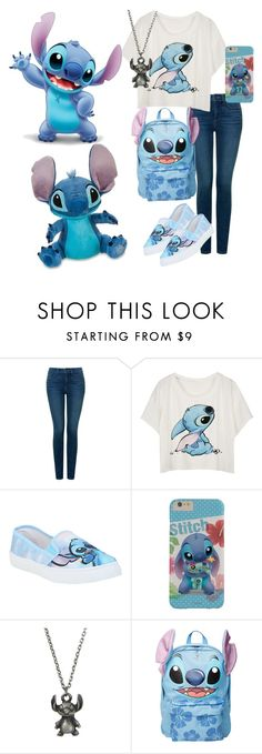 """Stitch"" by skyeparis ❤ liked on Polyvore featuring NYDJ and Disney"