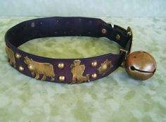 Antique Dog Collar with bell