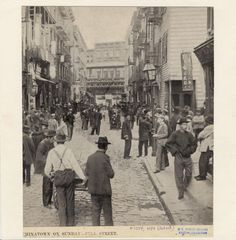 New York City Chinatown > Pell Street on a Sunday, 1899 Old Pictures, Old Photos, New York Chinatown, New York Photography, Lower East Side, Vintage New York, Vintage Photographs, Vintage Photos, Vintage Stuff