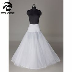 >> Click to Buy << In Stock White Bridal Accessories Bride Wedding Dress One Hoop A-Line Petticoat Crinolines Underskirt #Affiliate