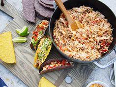 Braised Mexican Chicken -Goop (Gwenyth + slow cooker = heaven)