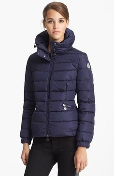 Moncler 'Sanglier' Down Jacket available at #Nordstrom