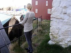 Long Faroese Sweater pattern by Hanne Magnussen