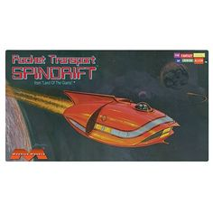 Land of the Giants Mini Spindrift Model Kit - Moebius Models - Land of the Giants - Model Kits at Entertainment Earth
