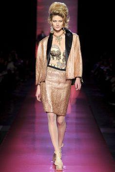 Jean Paul Gaultier Spring/Summer 2012 - Full length photos (Vogue.com UK)