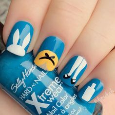 Try some of these designs and give your nails a quick makeover, gallery of unique nail art designs for any season. The best images and creative ideas for your nails. Disney Manicure, Nail Art Disney, Simple Disney Nails, Nail Manicure, Nail Art Designs, Disney Nail Designs, Nails Design, Trendy Nails, Cute Nails
