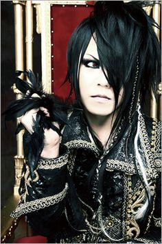 Masashi - plays bass in the band Versailles